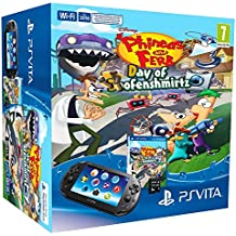 PlayStation Vita - Consola + Phineas&Ferb + 8 GB Memoria