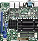 Asrock ad2550r/U3S3Motherboard für Server Atom D2550, Intel ICH10R, DDR3, S-ATA 600und Mini ITX