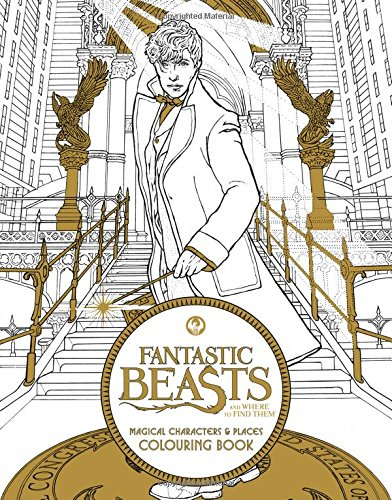 Fantastic Beasts and Where to Find Them: Magical Characters and Places Colouring Book (Fantastic Beasts Colouring Bks) por HarperCollins Publishers