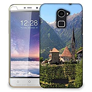 Snoogg Garden House Designer Protective Phone Back Case Cover for Coolpad Note 3 Lite