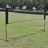 awakingdemi Badminton Tennis Net, Ausbildung Square Mesh Standard Badminton Net