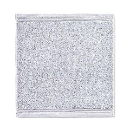 Möve Superwuschel Seiftuch 30 x 30 cm aus 100% Baumwolle, Silver