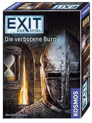 """KOSMOS Spiele 692872 - """"EXIT - Die verbotene Burg"""" Spiel"""