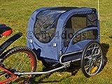 Hunde-Fahrradanhänger Starlight Maxi incl. Jogger-Kit - bis 40kg Zul.