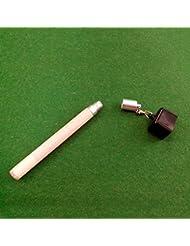 Ma-on Snooker Accessoires 2en 1poche de craie de billard Cue Tip Poinçon Outil Accessoires