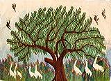 Arazzo kilim Nilo Egitto 137x97 orizzontale, arazzo originale lavorazione 100% artigianale a mano in egitto, disegni del paesaggi del Nilo trama ordito on cotone, intrecciato il vello con lane colorate con prodotti vegetali, rarisssimo esemplare. orizontale 137x97. Garanzia Mollaian Tappeti