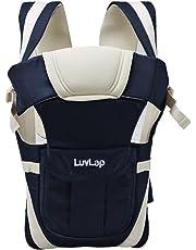 LuvLap Elegant Baby Carrier (Dark Blue)