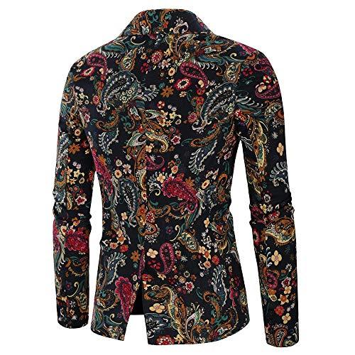 Zoom IMG-2 mambain giacca blazer uomo retro