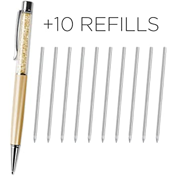 0a9848b027625e Black   Blue Ink Pen Refills For Crystal Elements and Swarovski Ballpoint  Pens Business