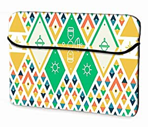 Theskinmantra Kites laptop sleeve for 15.6 inch