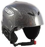 AWE Gli uomini dell'adulto sci casco grafite, taglia 58-60cm