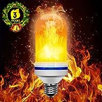[Sponsorizzato]Lampadina LED Fiamma, Beexcellent 3 Modalità E26 E27 Lampadine (bianca)