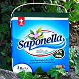Ha-Ra Saponella Konzentriertes Vollwaschmittel 4,5 kg mit Blue Pearls - 100 Waschladungen
