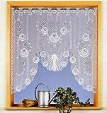 Jacquard Hochraff Fensterbild mit Stangendurchzug