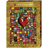 Heye 29709 - Standardpuzzle 1000 Teile, Stefanie Steinmayer, Hearts of Gold For You