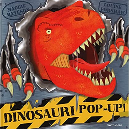 Dinosauri Pop-Up! Con Adesivi. Ediz. Illustrata