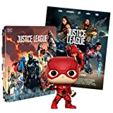 Justice League 2 Steelbook Esclusiva AMAZON (Blu-Ray) + Poster + Funko the Flash