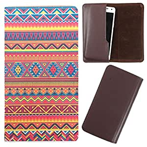 DooDa - For Micromax Canvas XL2 PU Leather Designer Fashionable Fancy Case Cover Pouch With Smooth Inner Velvet