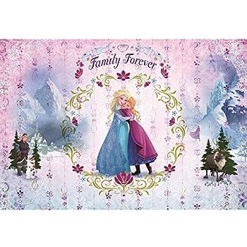 Papier Peint Anna Et Elsa Ensemble La Reine Des Neiges Disney