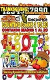 Thanksgiving: Counting Corns 1 to 20. Bilingual Spanish-English: Acción de Gracias: Contando Maíces 1 al 20. Bilingüe Español-Inglés (English Edition)
