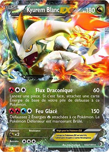 carte POKEMON Frontières Franchies - KYUREM BLANC EX 180 PV - 103/149