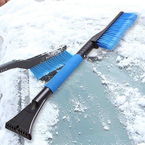 WawaAuto-Pieghevole-neve-raschietto-con-la-spazzola-Durevole-Auto-Raschiaghiaccio-Slim-Line-neve-Scopa-per-tutte-le-vetture-camion-e-SUV-sci-e-snowboard