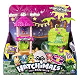 Hatchimals CollEGGtibles — Tropical Party Playset with Lights, Sounds and Exclusive Season 4 Hatchimals CollEGGtibles, for Ages 5 and Up