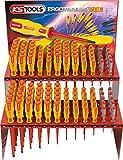 KS Tools 117.0560 ERGOTORQUE VDE Schraubendreher-Verkaufs-Display, 120-tlg.