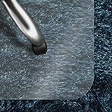 casa pura Bodenschutzmatte Transparent für Hochflor-Teppich | Schreibtischstuhl Unterlage für Büro und Wohnen | Bodenmatten wahlweise für Teppich/Hartböden (Hochflor-Teppich 120x150 cm)