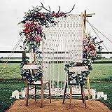 Fadenvorhang für Türen, romantisch-festliche Dekoration für Partys, Hochzeiten, Restaurants, Valentinstage oder für zu Hause