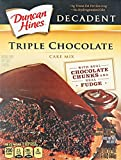 Duncan Hines Decadent Triple Chocolate Cake Mix 595g expires 26/09/17