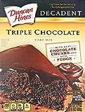 Duncan Hines Decadent Triple Chocolate Cake Mix 595g expires 26/09/17