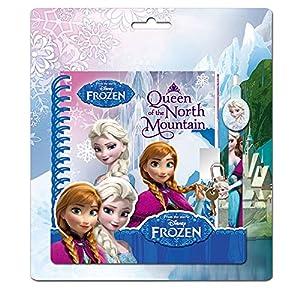 Set Diario boligrafo Frozen Disney candado