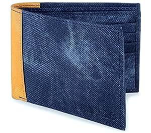 Laurels Men's Wallet Blue-SP-07