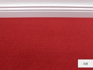 Teppichboden muster  Teppichboden Auslegware Amigo Rot Muster: Amazon.de: Baumarkt