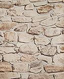 Tapete Steine Bruchsteine Mauer 05547-30