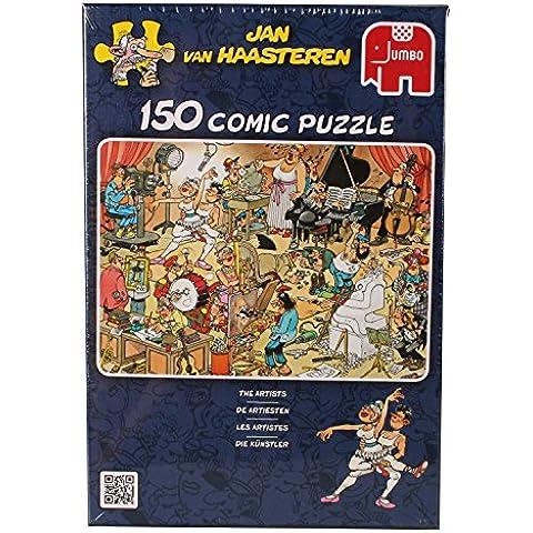 Jumbo 17160  - Jan van Haasteren - Los artistas, 150 piezas