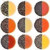 VAHDAM, Muestra de Té Darjeeling - 10 TEAS, 50 porciones | Hojas sueltas de té 100% puro sin dar Darjeeling | Darjeeling First Flush, Second Flush, Autumn Flush - Brew Hot o Iced, 100 g