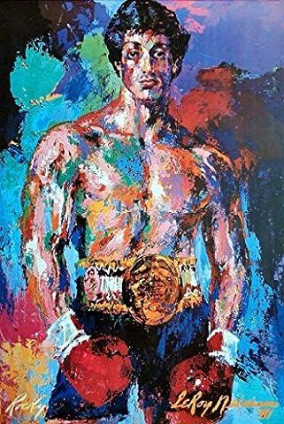 ROCKY BALBOA – Leroy Neiman Painting – US Imported Movie