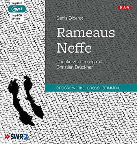 Rameaus Neffe: Ungekürzte Lesung mit Christian Brückner (1 mp3-CD)