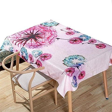 Nappe Table basse Table en tissu Toiles de table en coton et lin en lin Impression numérique Décoration intérieure , 007 ,