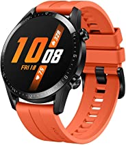 Huawei Watch GT 2 Smartwatch with GPS, 46mm, Orange
