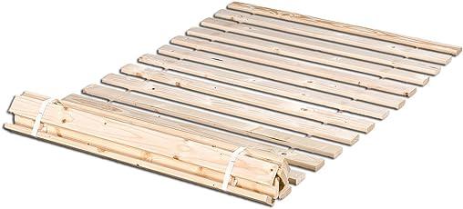 Betten-ABC Rollrost aus 20massiven stabilen Holzlatten Geeignet für alle Matratzen