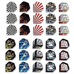 Cuesoul 10 Set Standard Dart Flights Wholesale