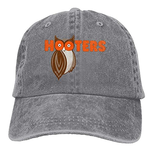 KKAIYA Save The Hooters Denim Skull Cap Cowboy Cowgirl Sport Hats for Men Women Cowgirl Cadet Cap
