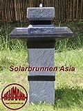 Solarbrunnen Asia Solarspringbrunnen Zengarten Brunnen...