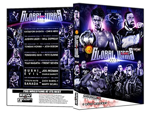 Official RPW / NJPW - Revolution Pro Wrestling & New Japan Pro Wrestling : Global Wars Night 2 2016 Event DVD