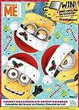 Minions Adventskalender 2017 | 3 Freunde | mit 90g Milchschokolade