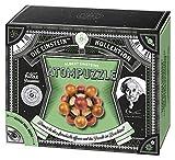 moses. 92106 Albert Einsteins Atompuzzle | Professor Puzzle Geduldspiel aus Holz | 2 Aufgaben im Set -