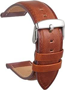 Bracelet Cuir Veau Imperméable Sangle Remplacer